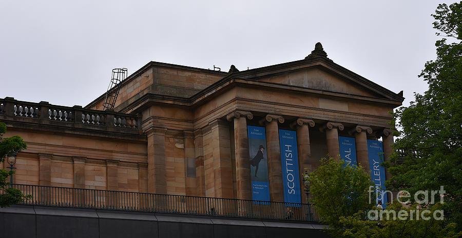 Scottish National Gallery by Yvonne Johnstone