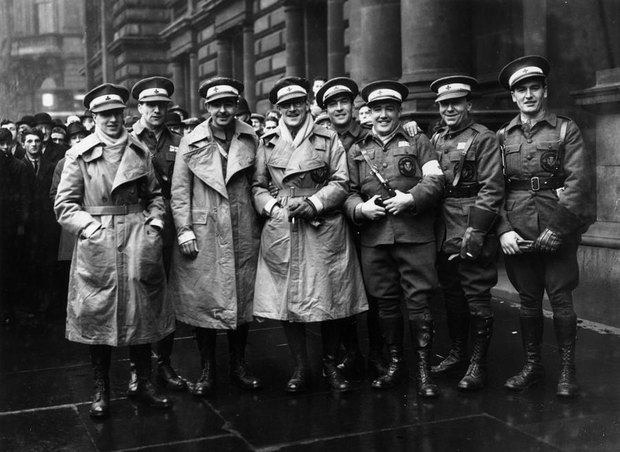Scottish Volunteers Photograph by Fox Photos