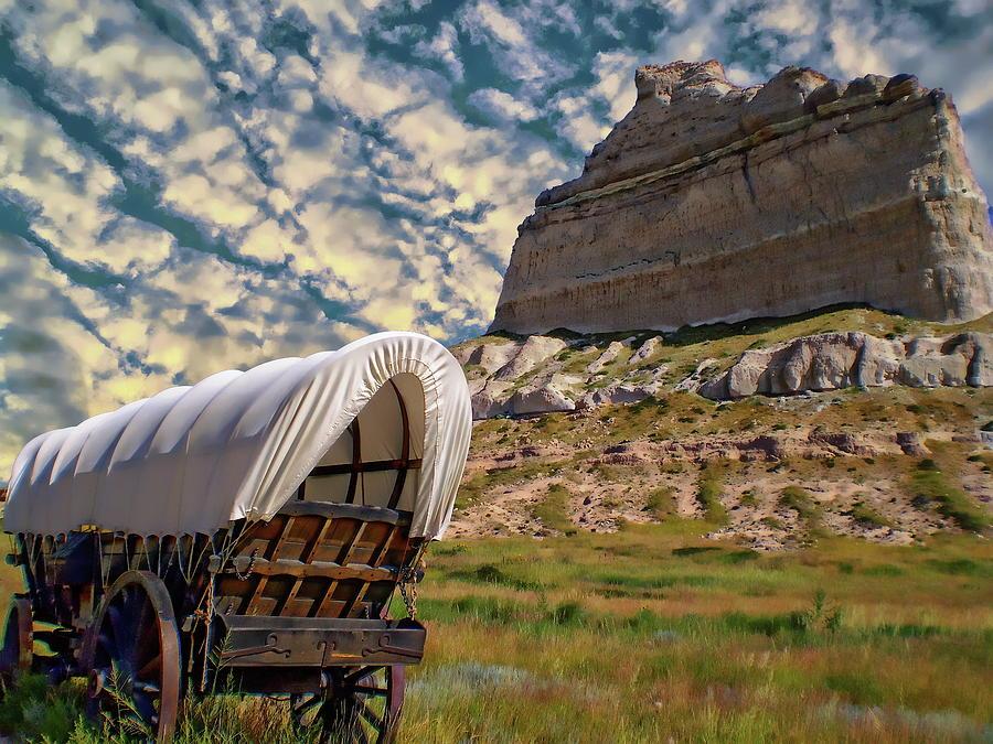 Scotts Bluff National Monument by Anthony Dezenzio