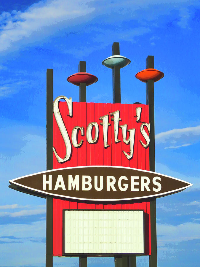 Scotty's Hamburgers by Dominic Piperata