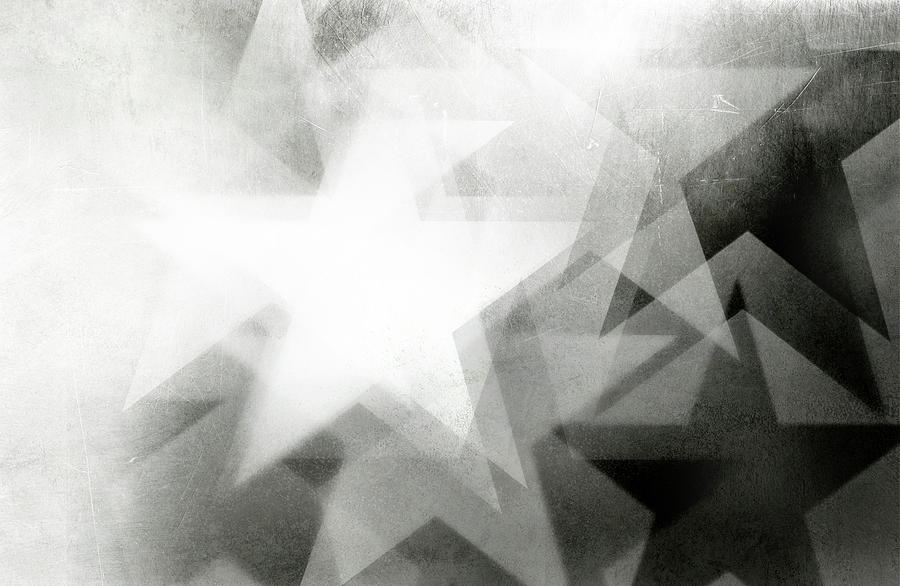 Scratchy Star Background Photograph by Loudredcreative