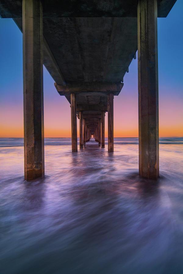 Scripps Photograph - Scripps Pier - 2 by Jonathan Hansen