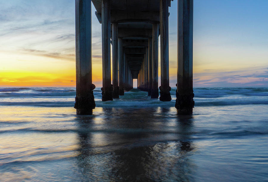 Scripps Pier Perspective by Richard A Brown