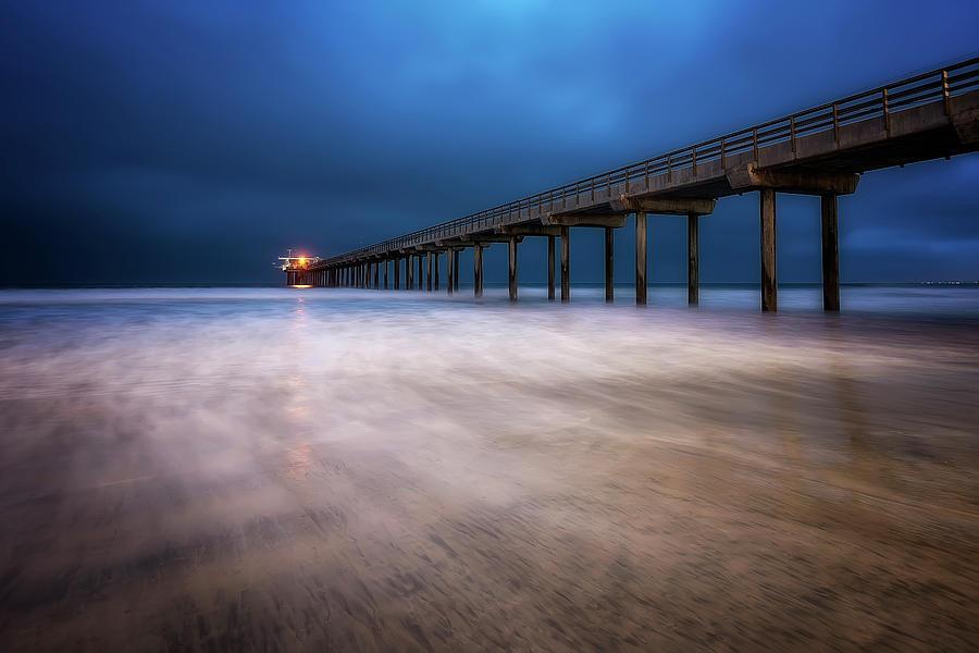 Scripps Pier by Ryan Wyckoff
