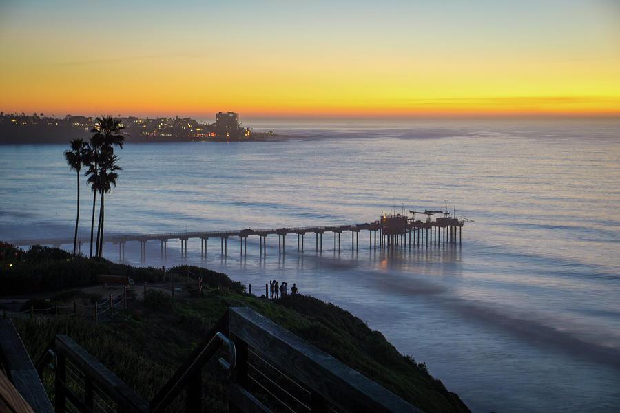 Scripps Sunset Stairway 4 by Richard A Brown