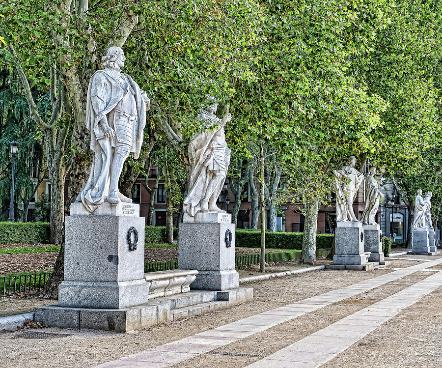Sculpture Collection - Royal Palace Madrid Photograph