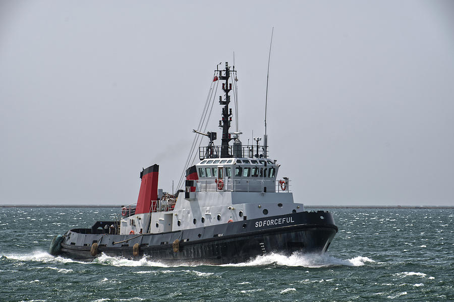 Tug Photograph - Sd Forceful by Chris Day