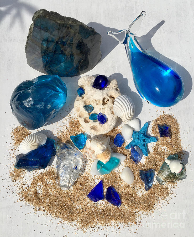 Sea Beings Andaras Crystals by Nathalie DAOUT