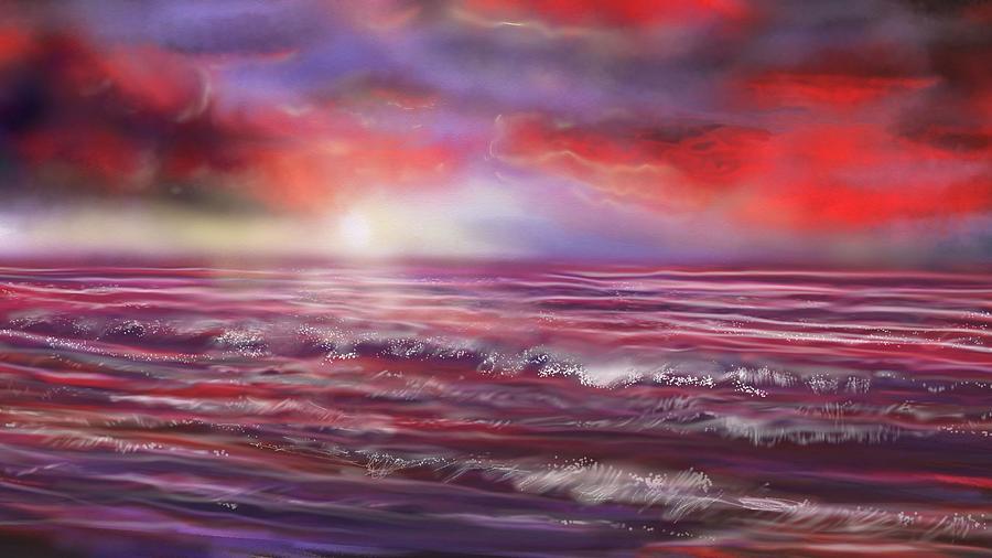 Sea Dawn by Robert Rearick