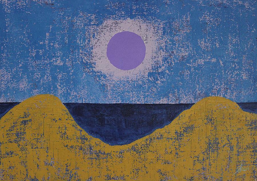Sea Dunes original painting by Sol Luckman