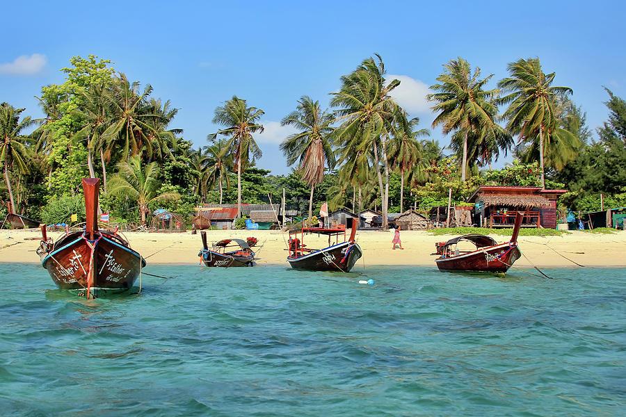 Sea Gypsy Settlement On Koh Lipe Photograph by Igor Prahin