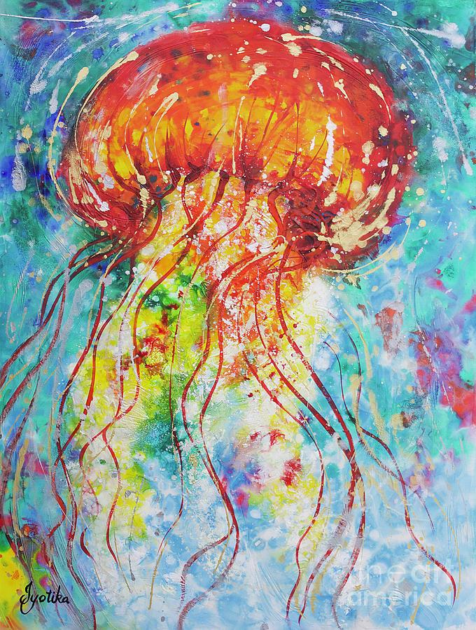 Sea Nettle Jellyfish by Jyotika Shroff