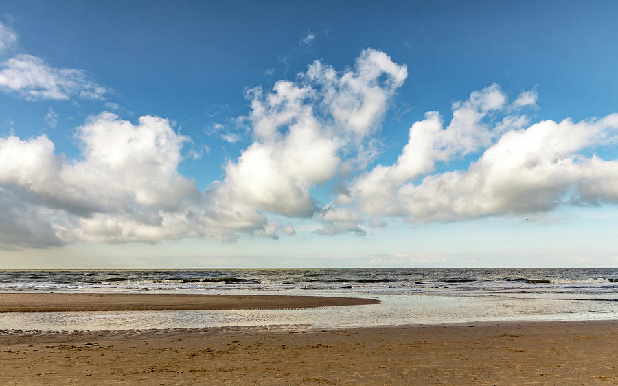 Holland Photograph - Sea Panorama by Framing Places