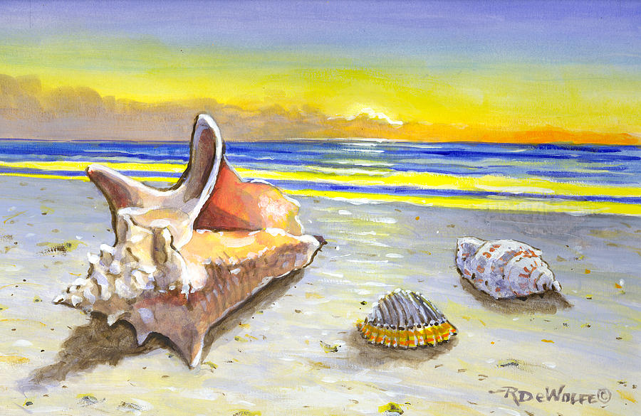 Sea Shells By The Sea Shore by Richard De Wolfe
