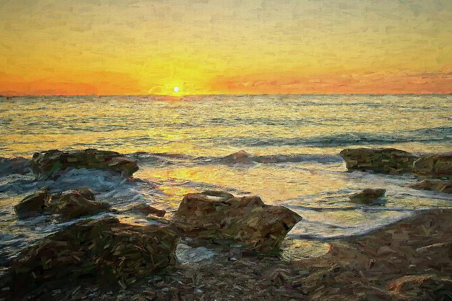 Sea Shore Glow by Steve DaPonte