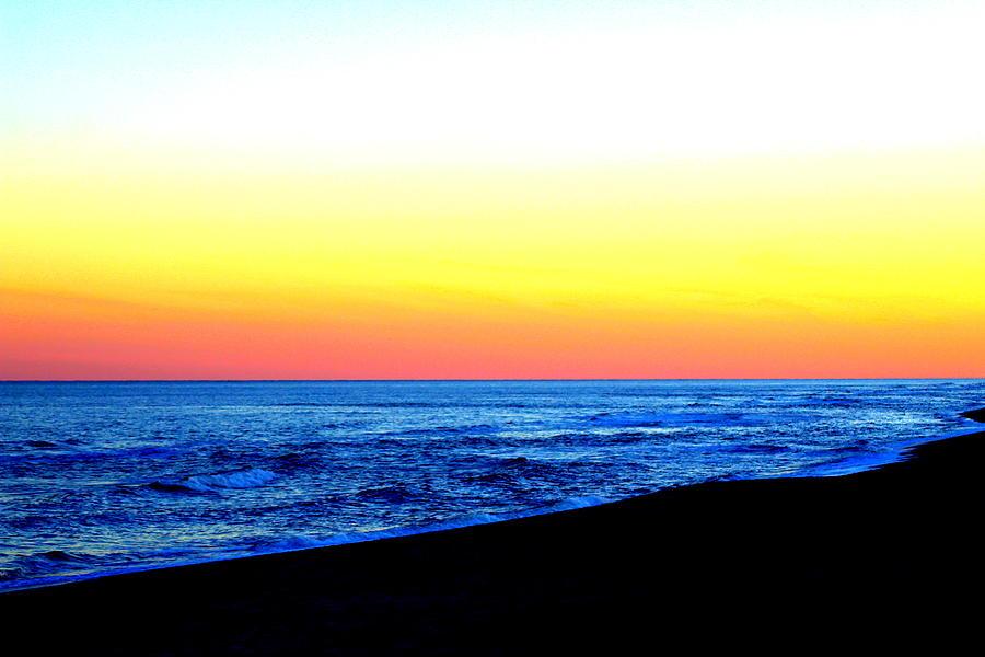 Sea Sunset by Cynthia Guinn