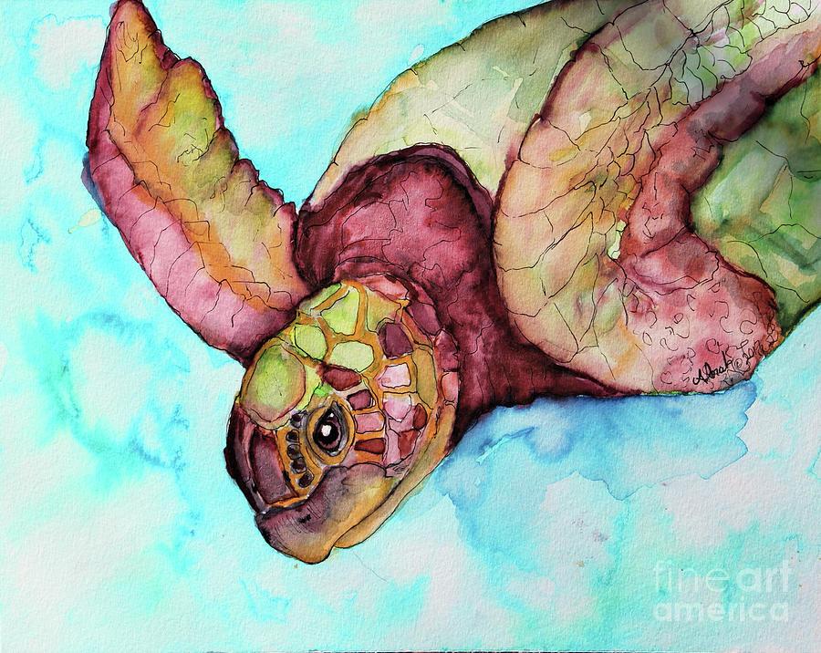 Sea Turtle by Alorah Tout