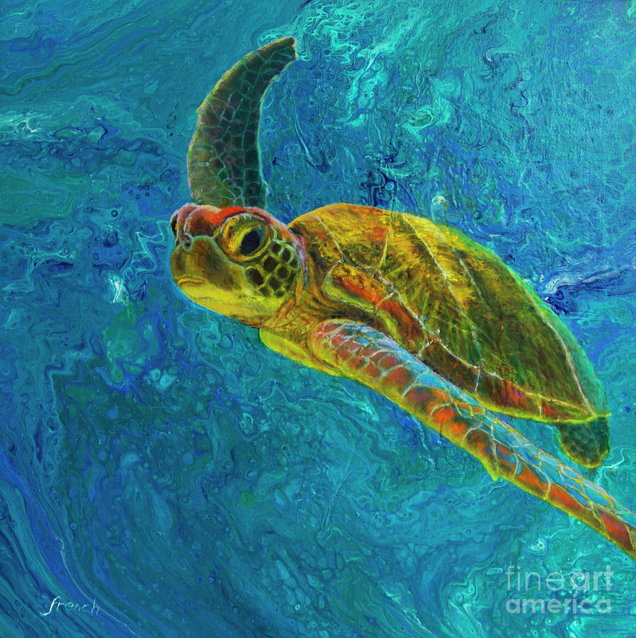 Sea Turtle by Jeanette French