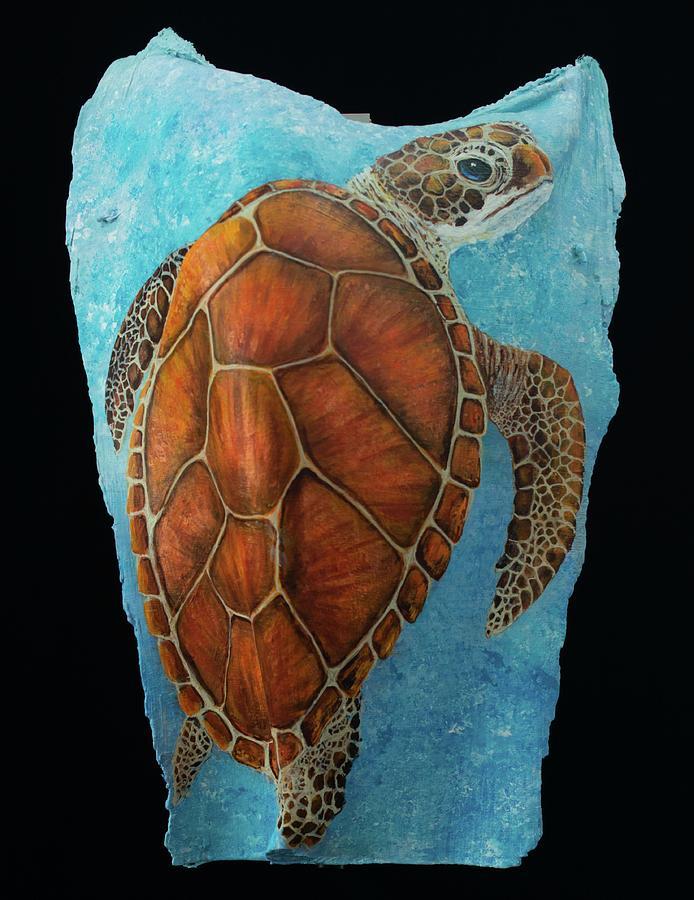 Sea Turtle new by Nancy Lauby