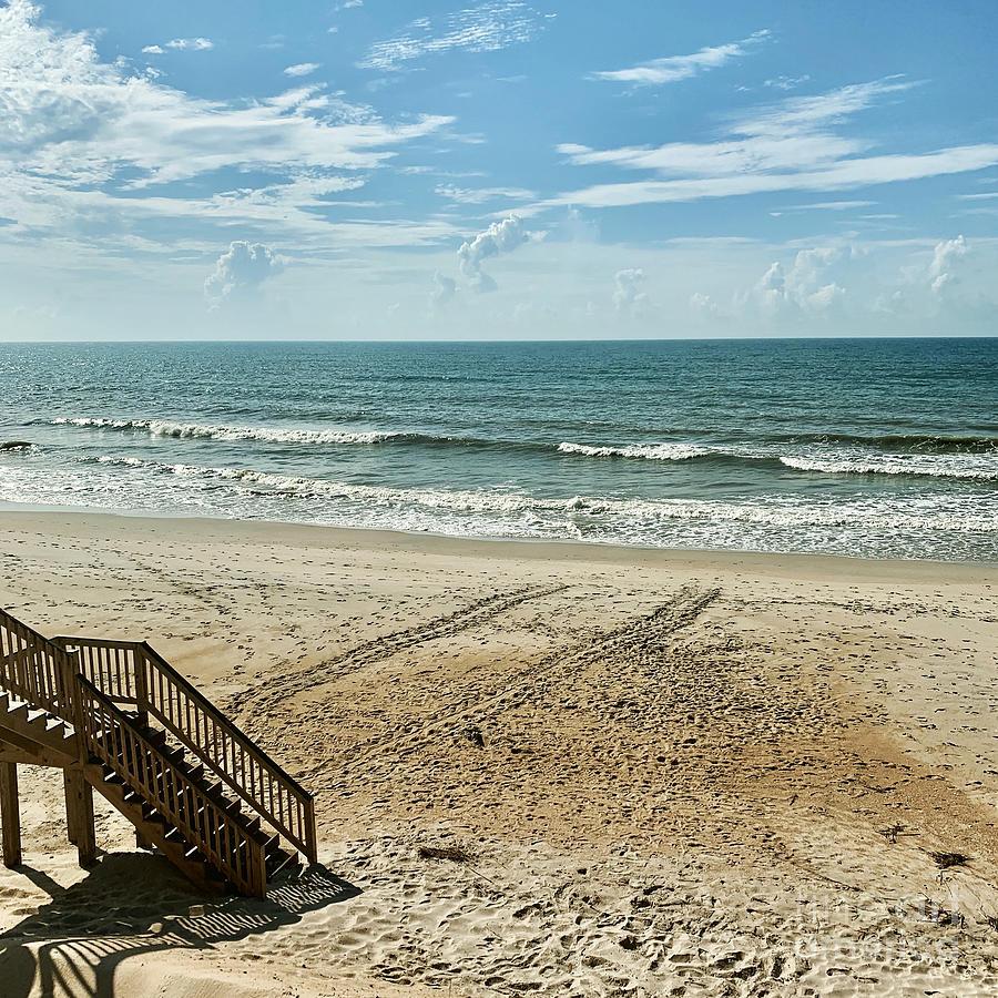 Sea Turtle Tracks Surf City Topsail Island N by Flippin Sweet Gear