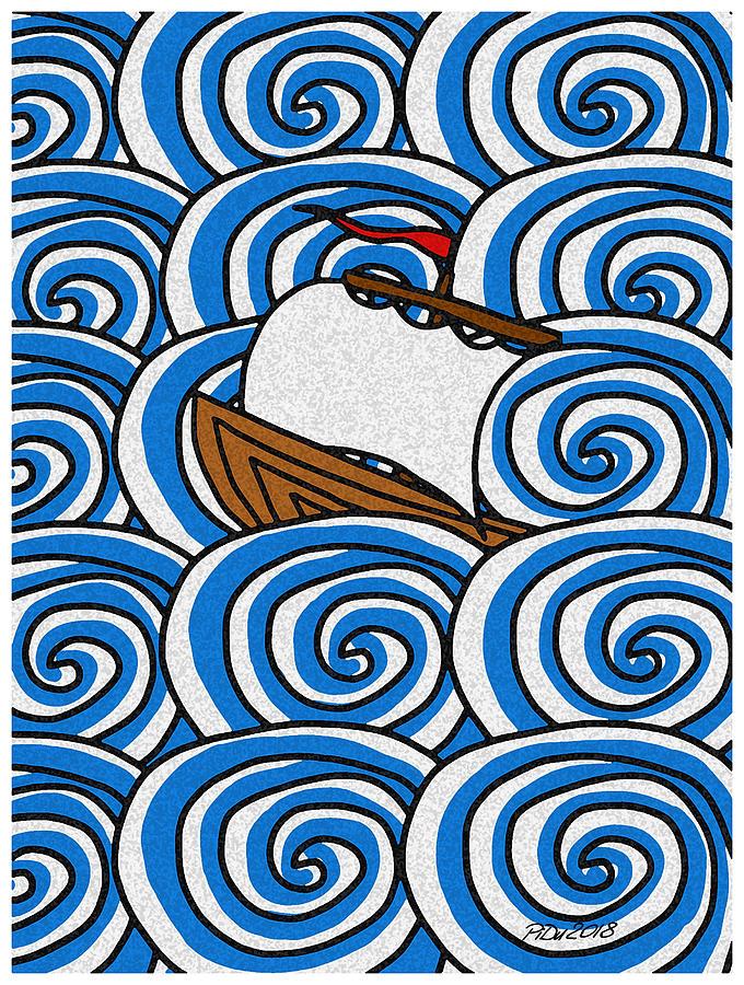 Sea Voyage by Piotr Dulski