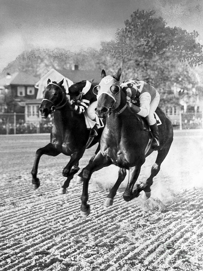 Seabiscuit Vs War Admiral Photograph by The Stanley Weston Archive