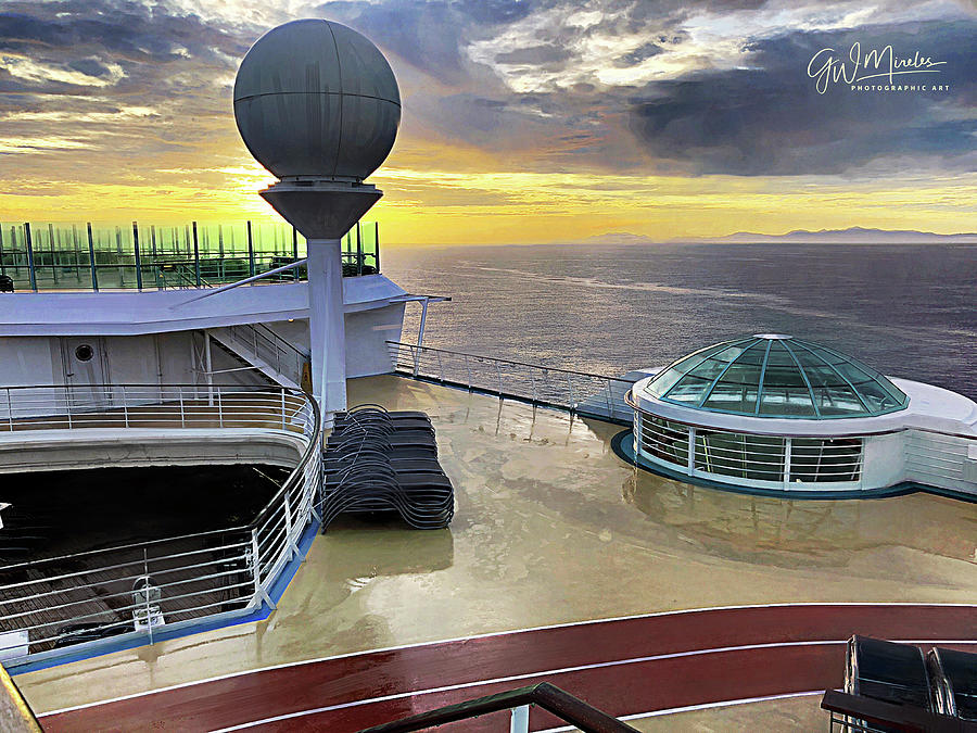 Seaborne Morning by GW Mireles