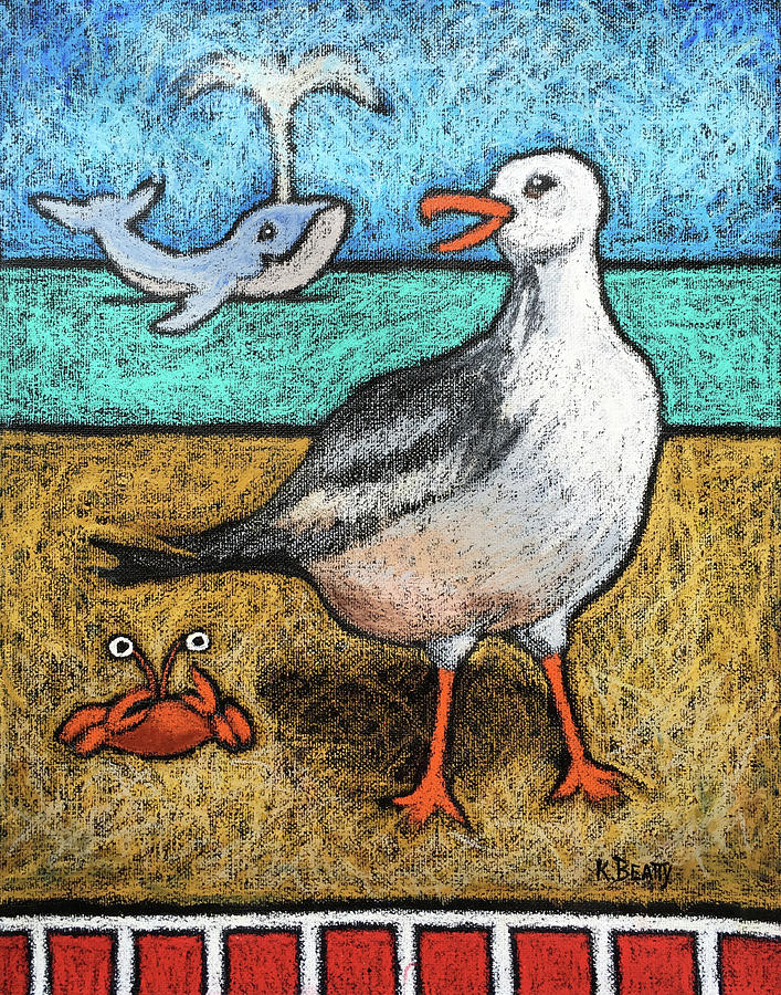 Seagull and Friends by Karla Beatty
