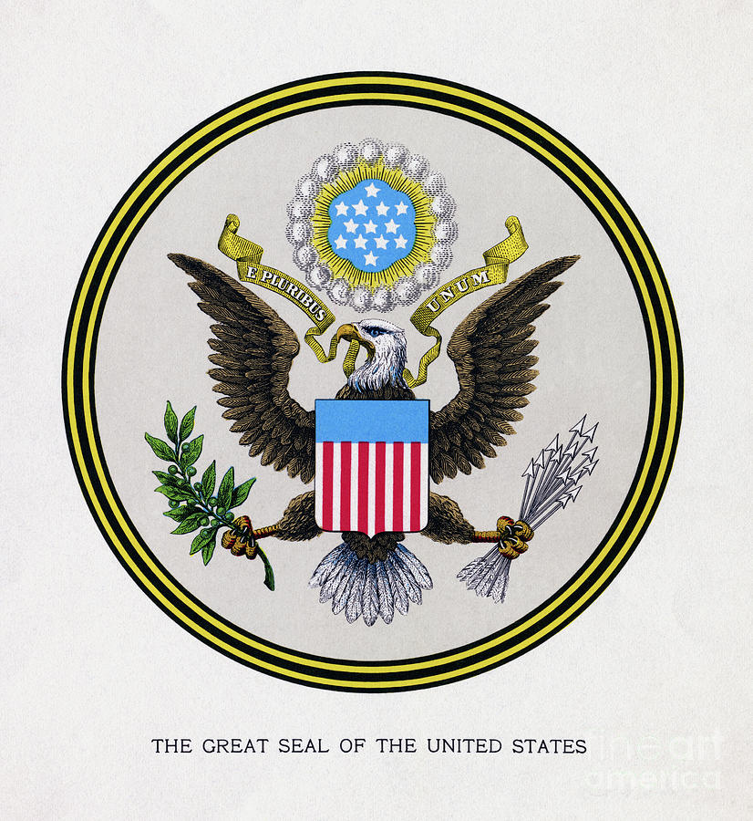 Seal Of The United States Photograph by Bettmann