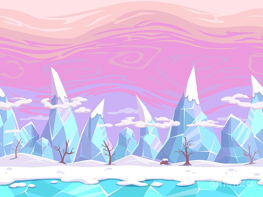 Play Digital Art - Seamless Vector Cartoon Fantasy by Lilu330