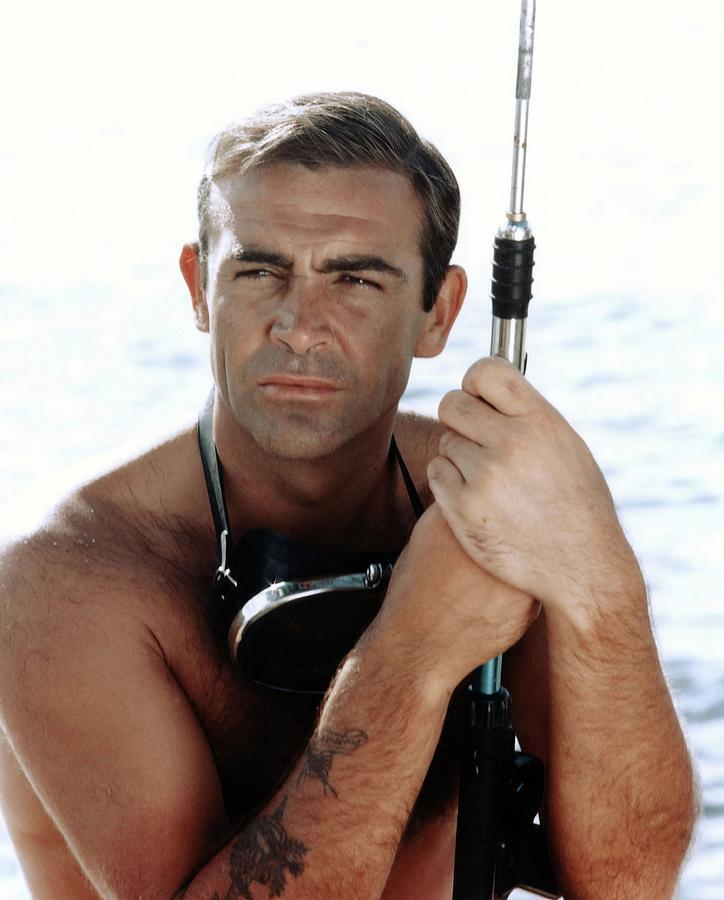 Sean Connery In 007 James Bond Thunderball 1965 Original Title Thunderball Photograph By Album