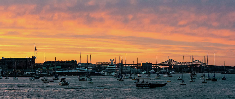 Seaport Sunset by Christina Maiorano