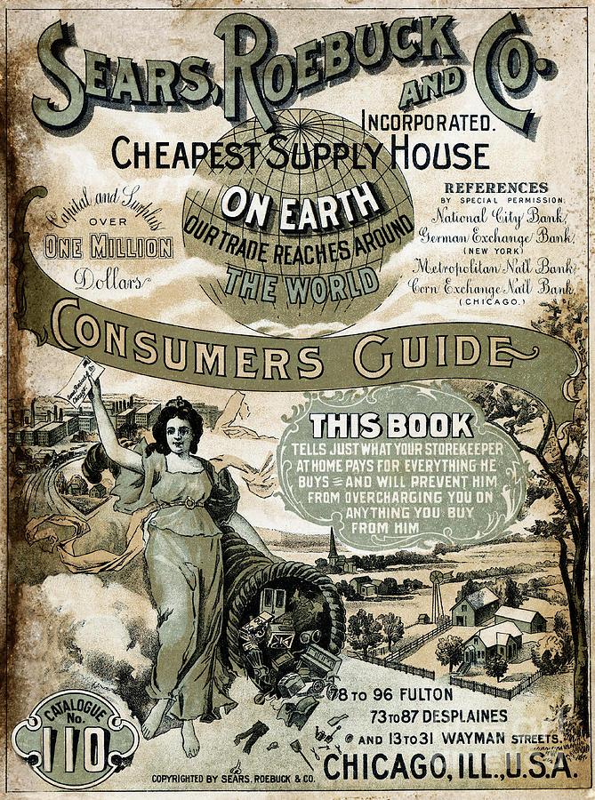 Sears, Roebuck And Co. Catalog No.110 Photograph by Bettmann