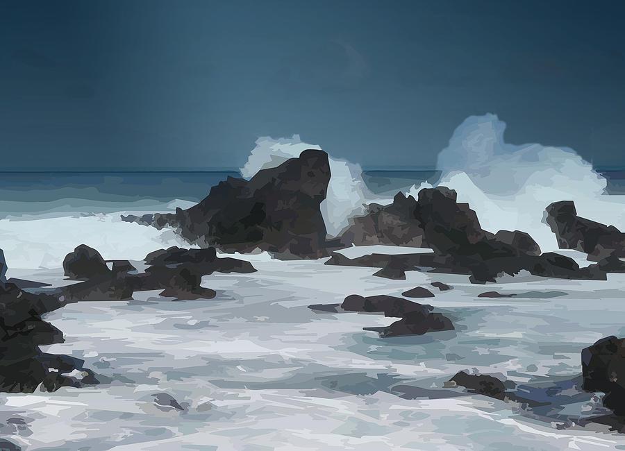 Seascape 10 High Resolution by michaelalonzo kominsky
