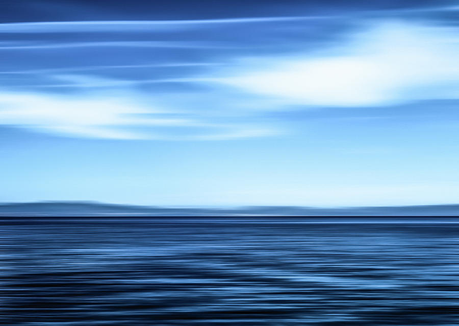 Seascape Art V by Anne Leven
