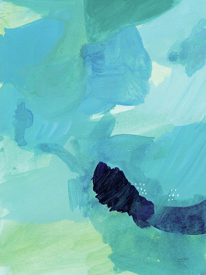 Abstract Painting - Seascape II by Lynn Mack
