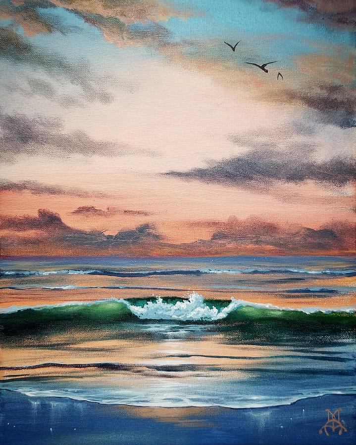 Seaside Escape Painting