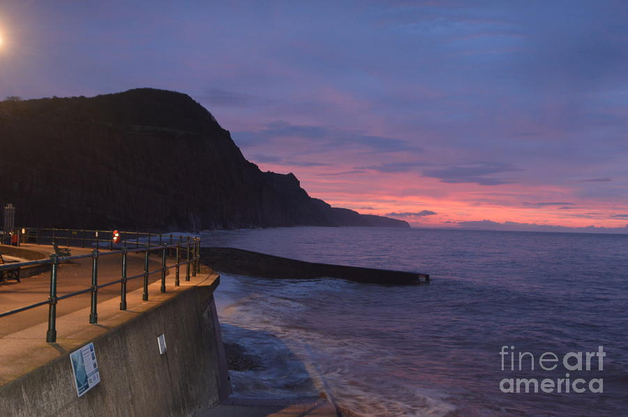 Sea Photograph - Seaside Sunrise by Andy Thompson