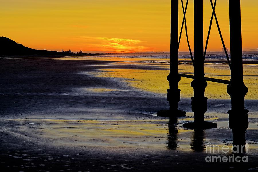 Seaside Sunset at Saltburn by Martyn Arnold
