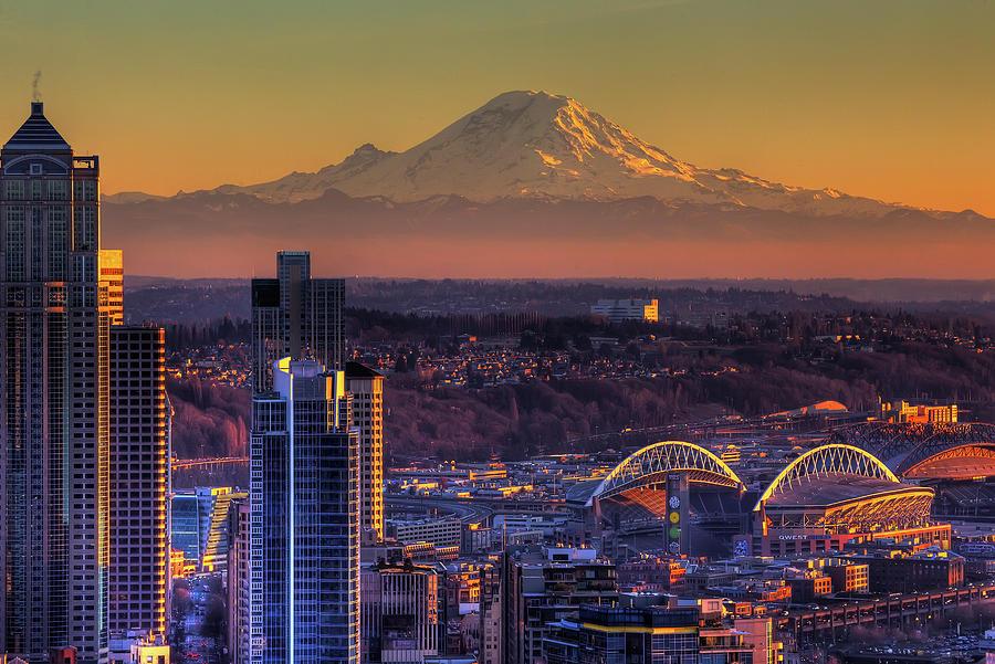 Seattle Photograph by Alaska Photography