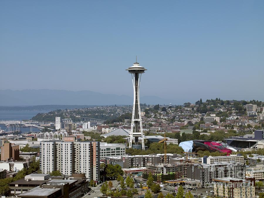 Seattle Cityscape, 2009 by Carol Highsmith