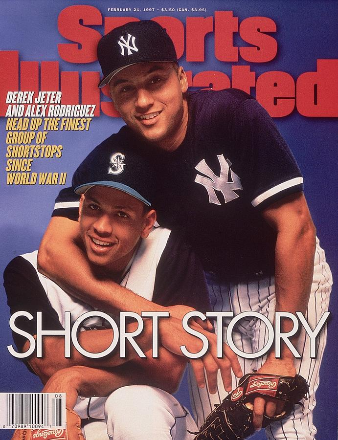 Seattle Mariners Alex Rodriguez And New York Yankees Derek Sports Illustrated Cover Photograph by Sports Illustrated