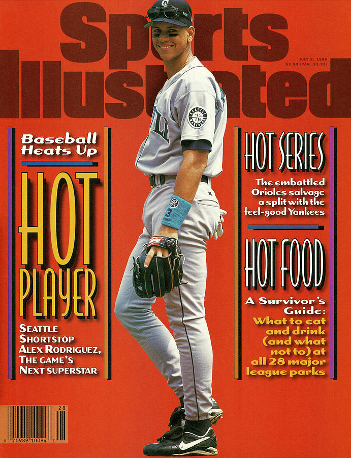 Seattle Mariners Alex Rodriguez... Sports Illustrated Cover Photograph by Sports Illustrated