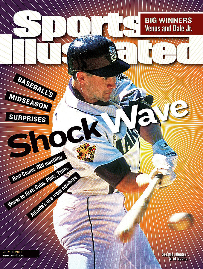 Seattle Mariners Bret Boone... Sports Illustrated Cover Photograph by Sports Illustrated