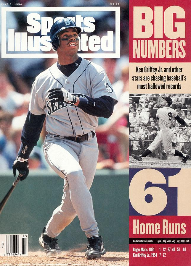 Seattle Mariners Ken Griffey Jr... Sports Illustrated Cover Photograph by Sports Illustrated