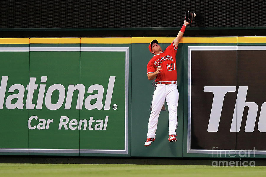 Seattle Mariners V Los Angeles Angels Photograph by Sean M. Haffey