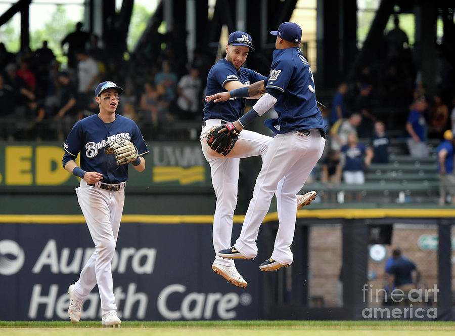 Seattle Mariners V Milwaukee Brewers Photograph by Quinn Harris