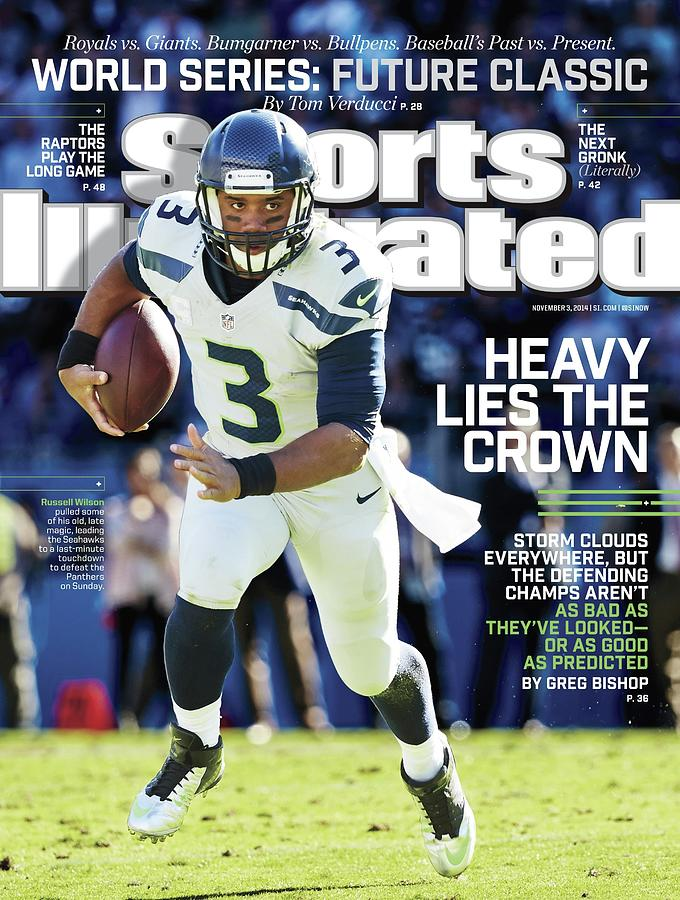 Seattle Seahawks Heavy Lies The Crown Sports Illustrated Cover Photograph by Sports Illustrated