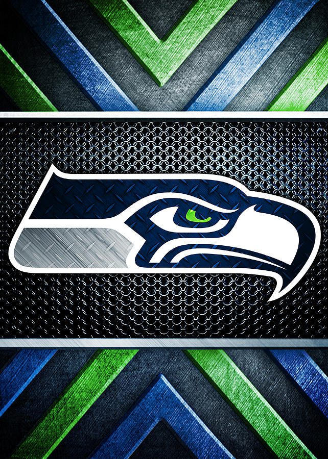 Seattle Seahawks Logo Art Digital Art By William Ng