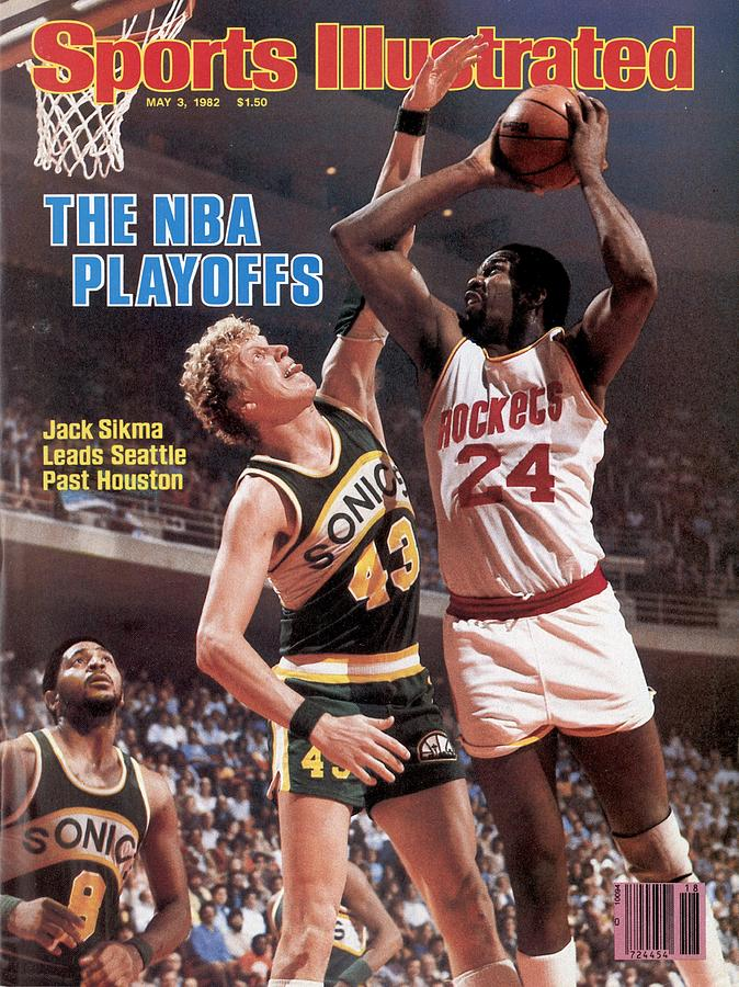 Seattle Supersonics Jack Sikma, 1982 Nba Western Conference Sports Illustrated Cover Photograph by Sports Illustrated